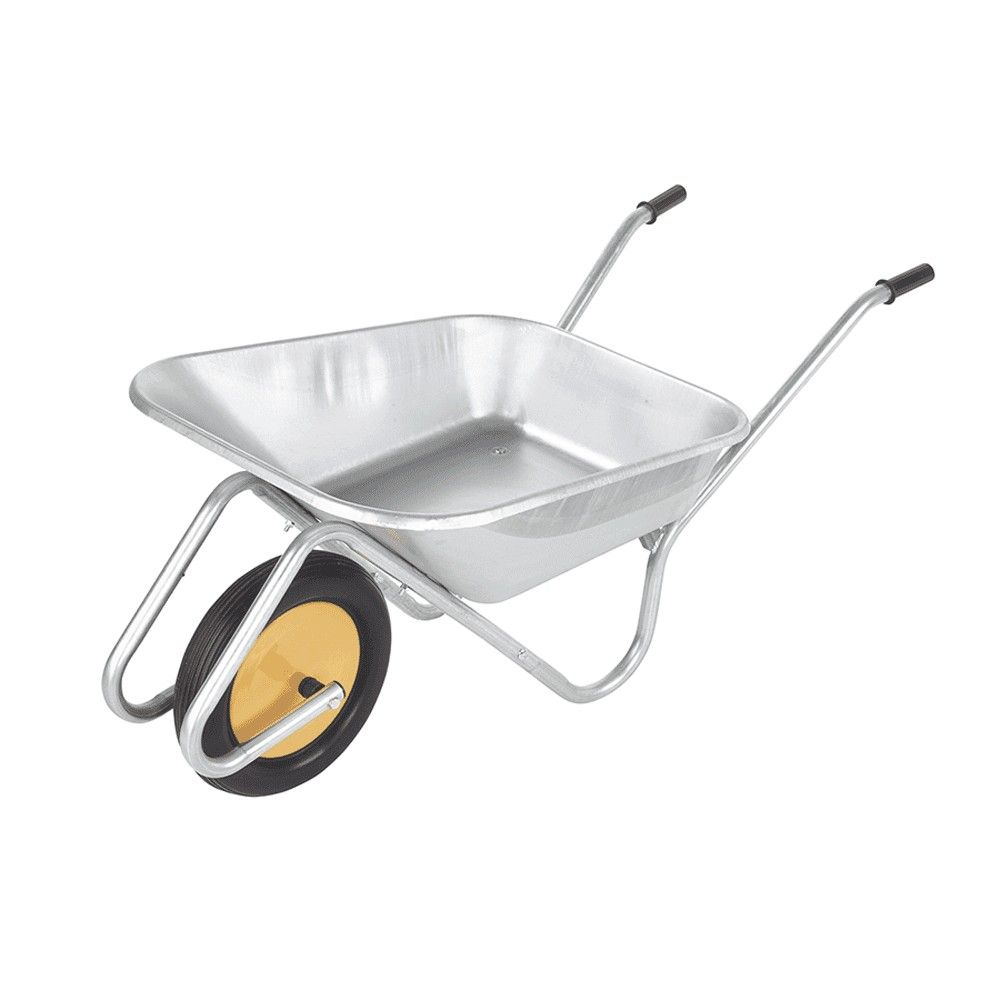 90 Litre Galvanised Wheelbarrow Handibarrow boxed barrow
