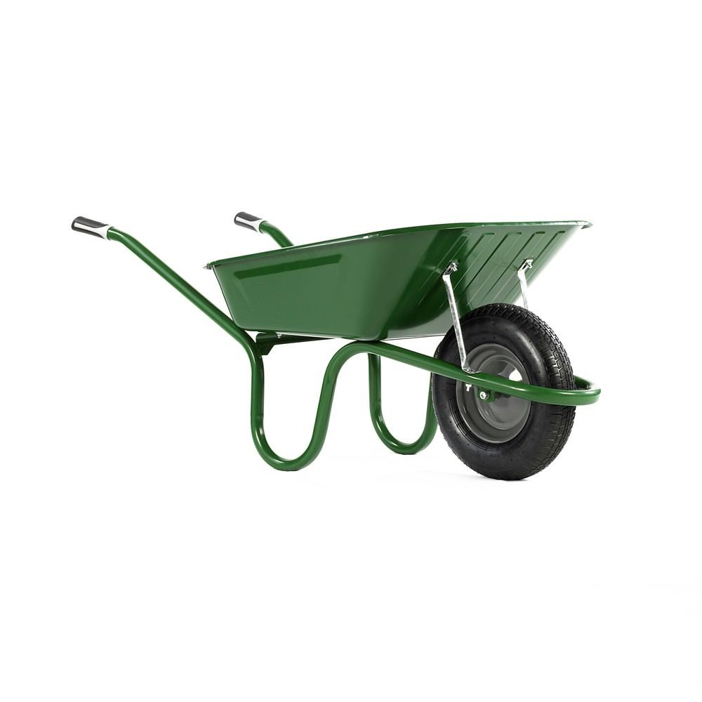 90 Litre Orginal Wheelbarrow Puncture Proof Wheel Option