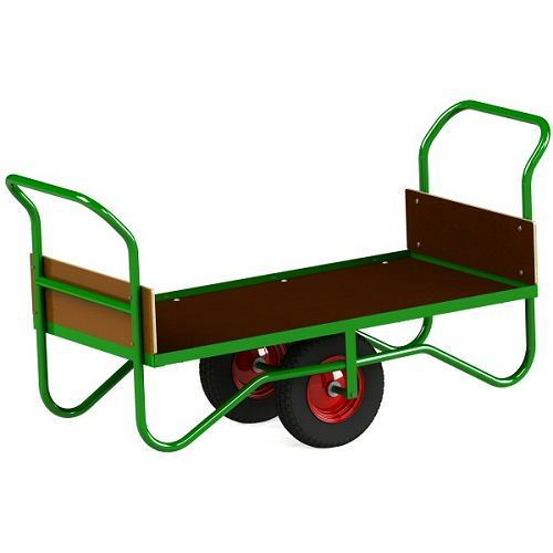 Balance Trolley With Pram Handles | Platform Trolley