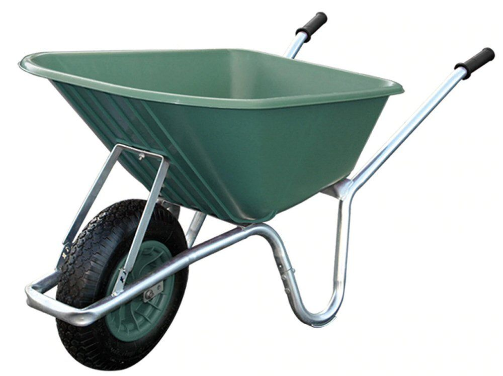 Big Green Mucker Wheelbarrow | Garden Wheelbarrows