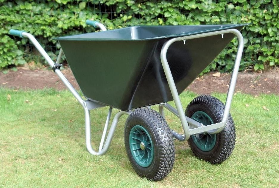 County Mammoth Wheelbarrow | Twin Wheel | County Wheelbarrows