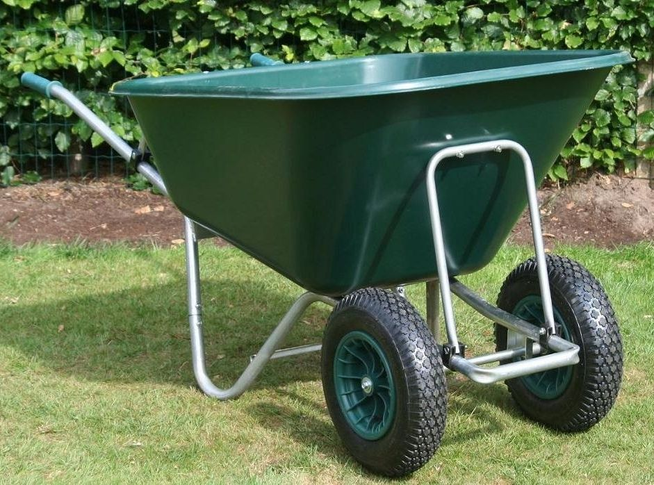 County Samson Wheelbarrow | Twin Wheel | County Wheelbarrows