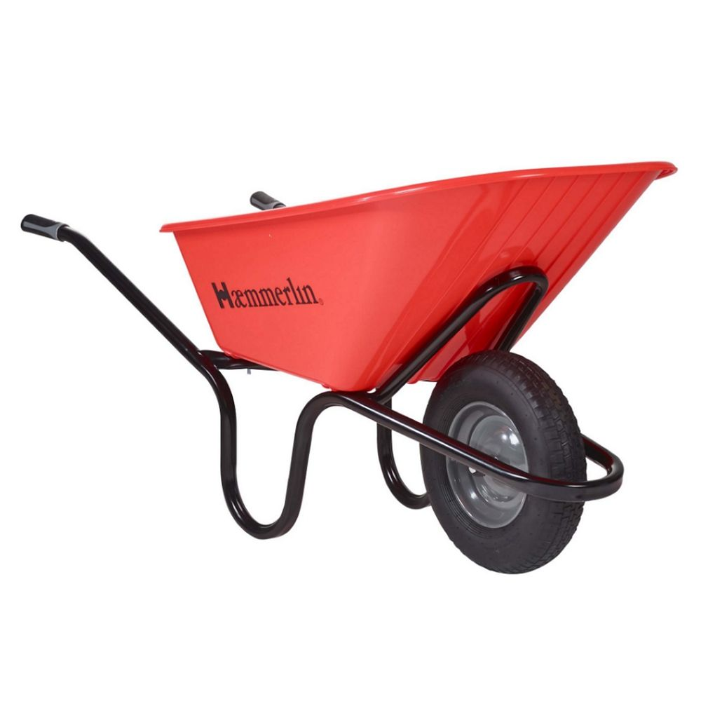 Crusader Wheelbarrow Professional 120 Litre Poly tray