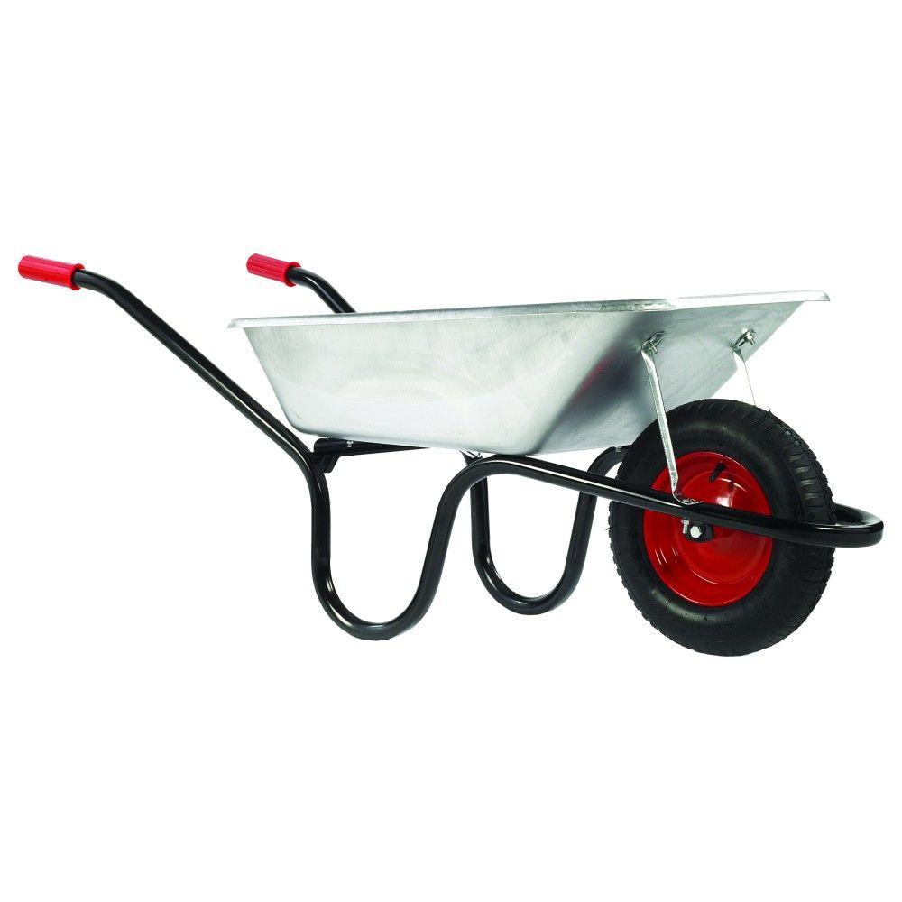 Galvanised Builders Wheelbarrow The Camden Classic 85 Litre