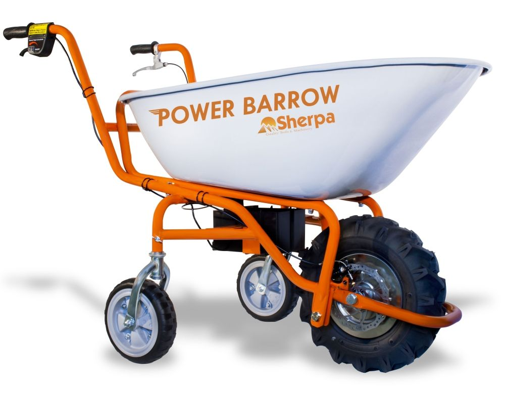 Sherpa Wheelbarrow Powered Electric Wheelbarrow