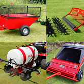 Towed Quad & Mower Attachments