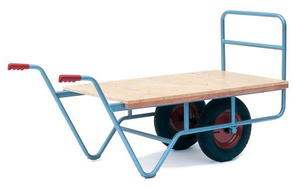 Twin wheel Garden Centre trolley | Nursery Trolleys