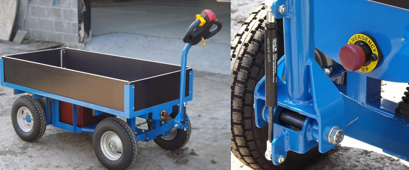 Electric Turntable Truck